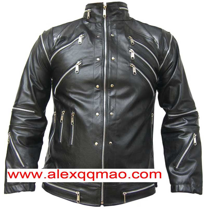 Michael Jackson Beat it schwarz Jacke