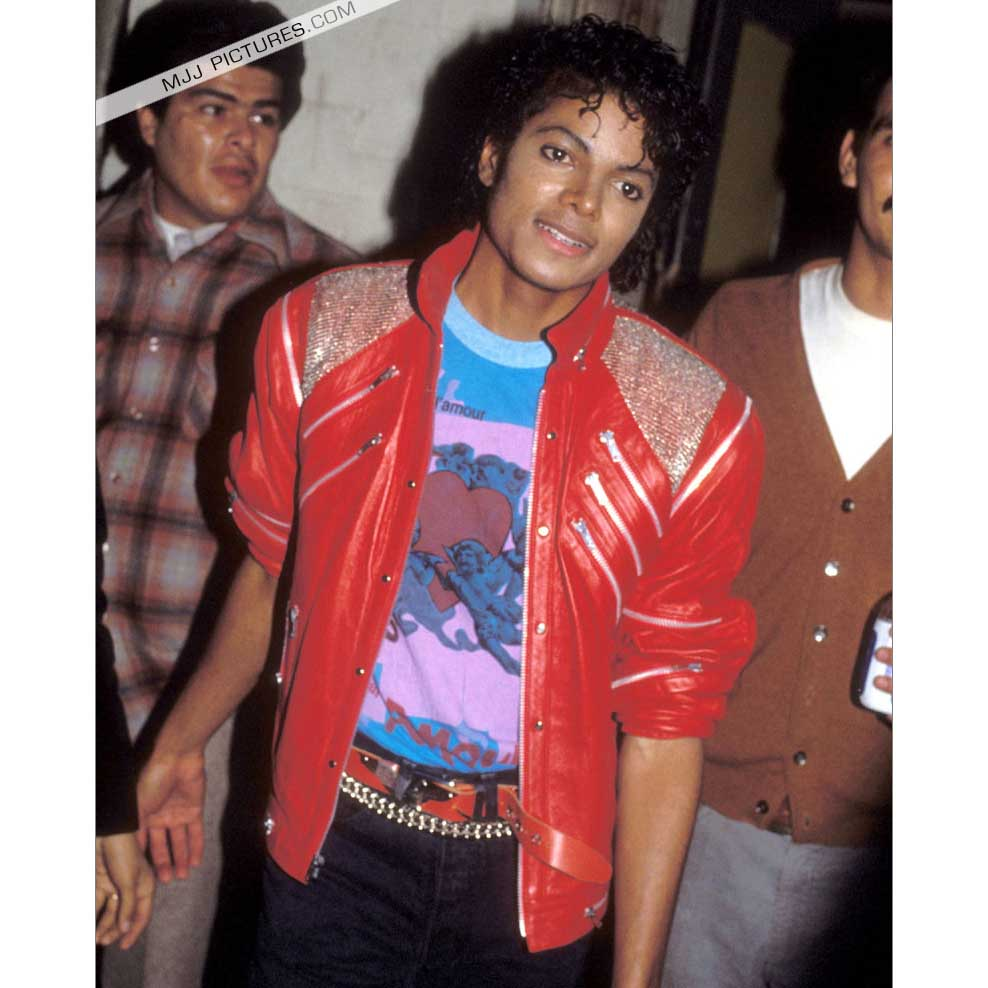 Michael Jackson Beat it rot Jacke