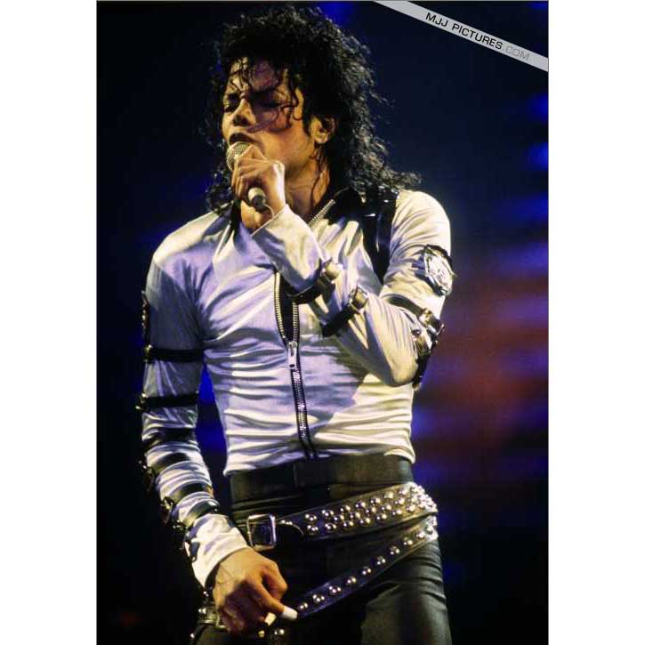 Michael Jackson BAD silbrige Jacke Japan Tour